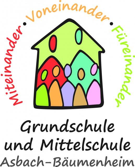 Logo der Grund- und Mittelschule Asbach-Bäumenheim