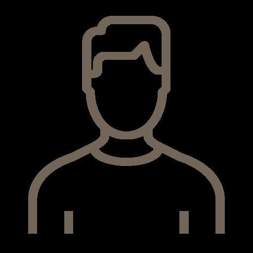 Anonymes Personenbild (männlich)